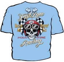 Fast Lane Racing Navy Work Shirt