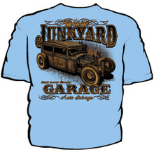 Junkyard Garage Navy Work Shirt