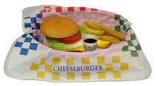 Hamburger Basket Set - Fake Food