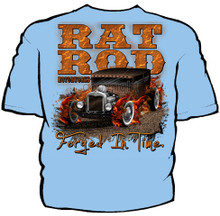 Rat Rod Motorworks Navy Work Shirt