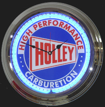 Holly Carburetion Neon Clock
