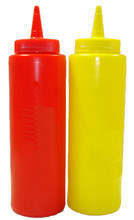 50's Style Ketchup and Mustard Dispensers