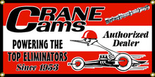 Crane Cams Wall Banner