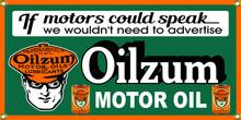 Oilzum Motor Oil Classic Wall Banner