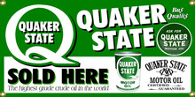 Quaker State Motor Oil Classic Wall Banner