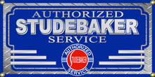 Studebaker Authorized Service Wall Banner