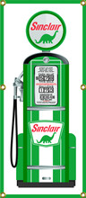 Sinclair Gas Pump 6 Foot Tall Wall Banner