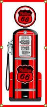 Phillips 66 Gas Pump 6 Foot Tall Wall Banner