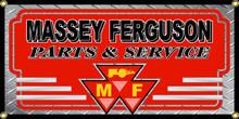 Massey Ferguson Wall Banner