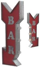 Bar Arrow Off The Wall Lighted Sign