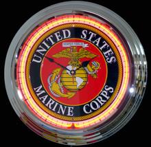 Marine Corp Neon Clock