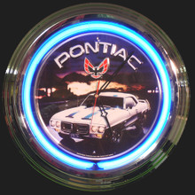 Pontiac Trans Am Neon Clock