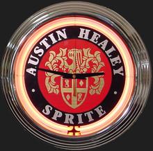 Austin Healey Sprite Neon Clock