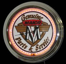 Maico Motorcycle Neon Clock