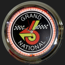 Buick Grand National Neon Clock