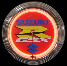 Suzuki GSXR Neon Clock