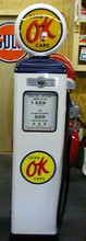 OK Used Cars 1950's Full Size Erie Gas Pump