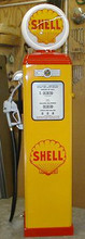 Shell Oil 1950's Full Size Erie Gas Pump