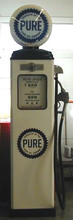 Pure Oil 1950's Full Size Erie Gas Pump