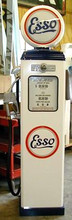 Esso Oil 1950's Full Size Erie Gas Pump