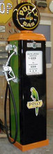 Polly Gasoline Special 1950's Full Size Erie Gas Pump