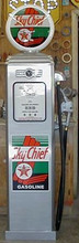Texaco Sky Chief 1950's Full Size Erie Gas Pump