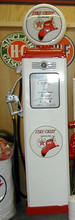 Texaco Fire Chief 1950's Full Size Erie Gas Pump