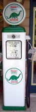 Sinclair Dino 1950's Full Size Erie Gas Pump