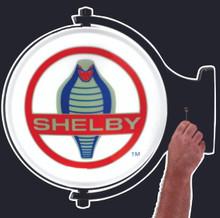 Shelby Cobra Logo Revolving Wall Flange
