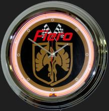Pontiac Fiero Neon Clock