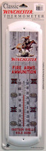Winchester Rider Logo Thermometer