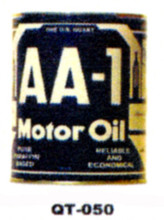 AA-1 Motor Oil Cans - Quantity Of Six Cans