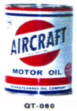 Aircraft Motor Oil Cans - Quantity Of Six Cans