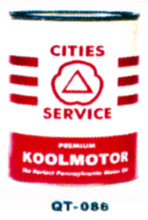 City Services Koolmotor Motor Oil Cans - Quantity Of Six Cans