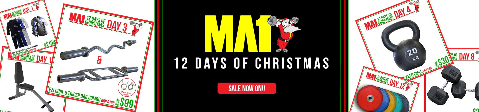 MA1 XMAS Sale!