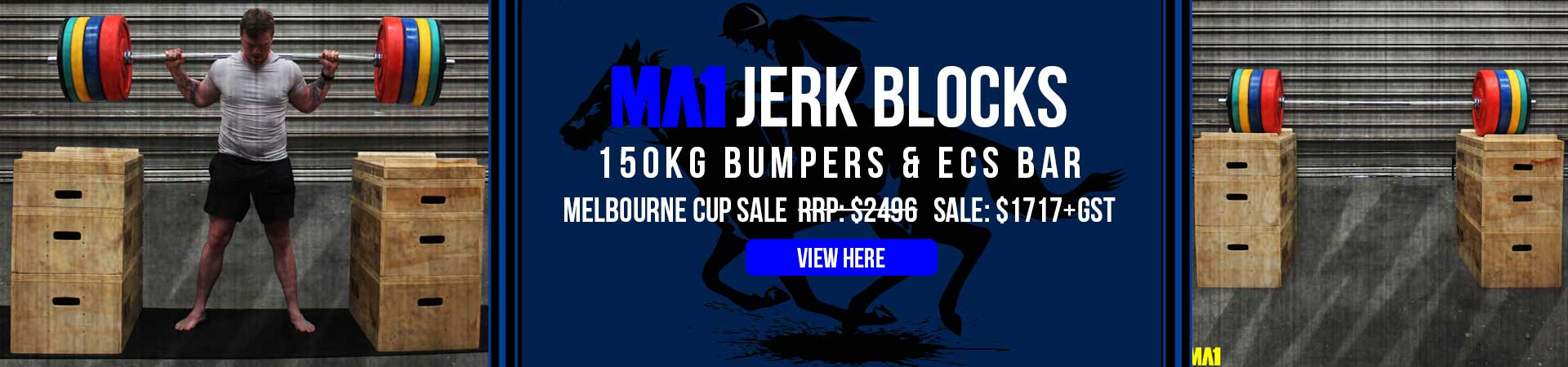 MA1 Melb Cup Jerk Block Sale