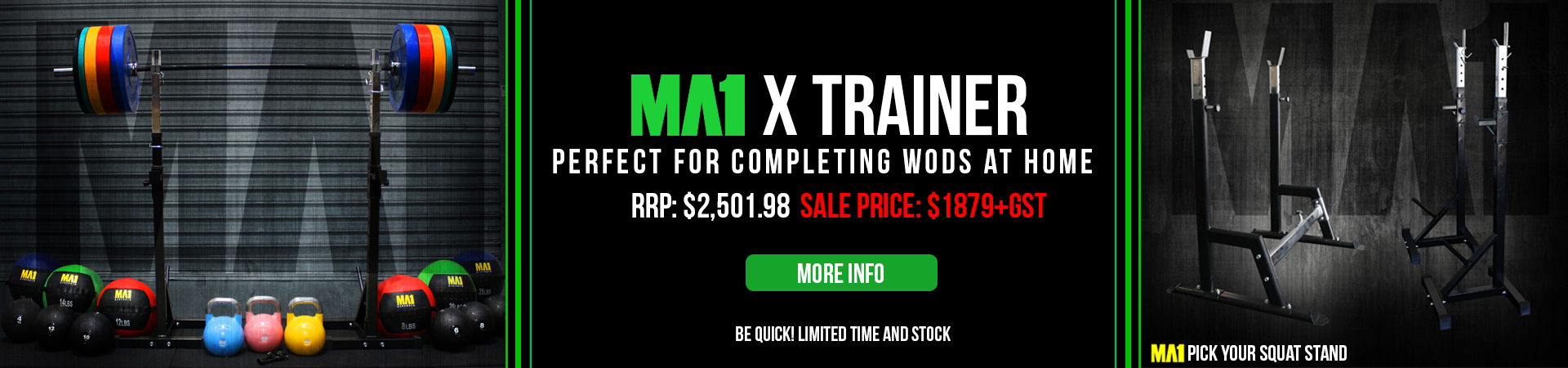 MA1 X Trainer - Perfect for WODs at home