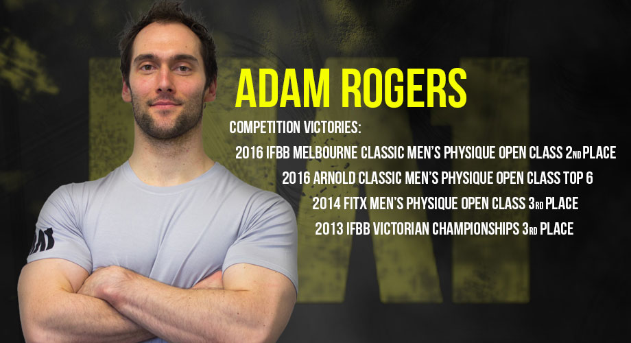 Adam Rogers | MA1 Athlete | Physique Model