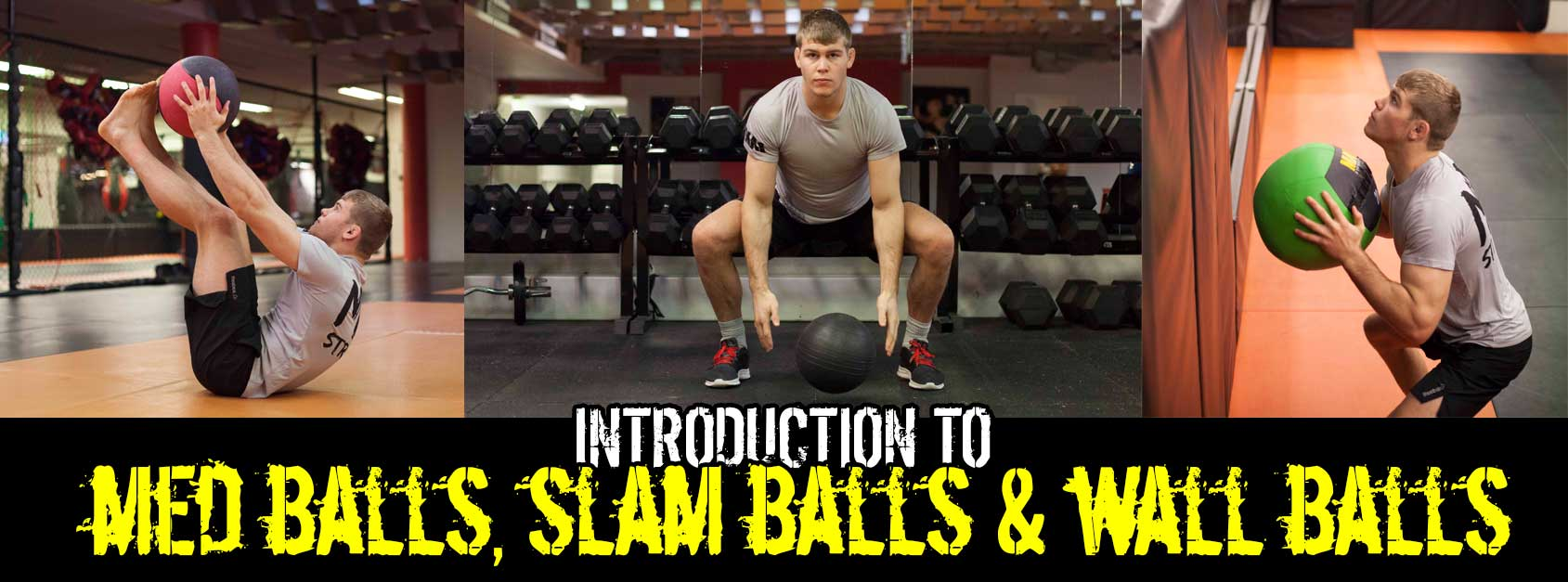 Difference between Medicine Ball, Slam Ball & Wall Balls