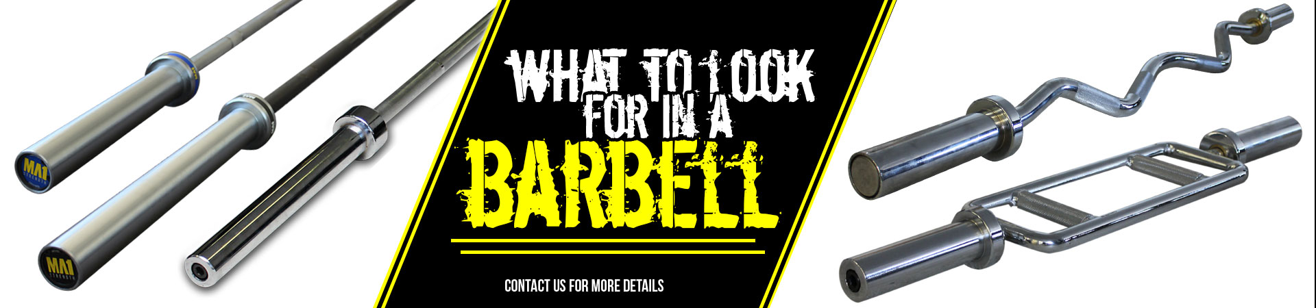 What to look for in a barbell?