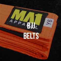 MA1 BJJ Belts
