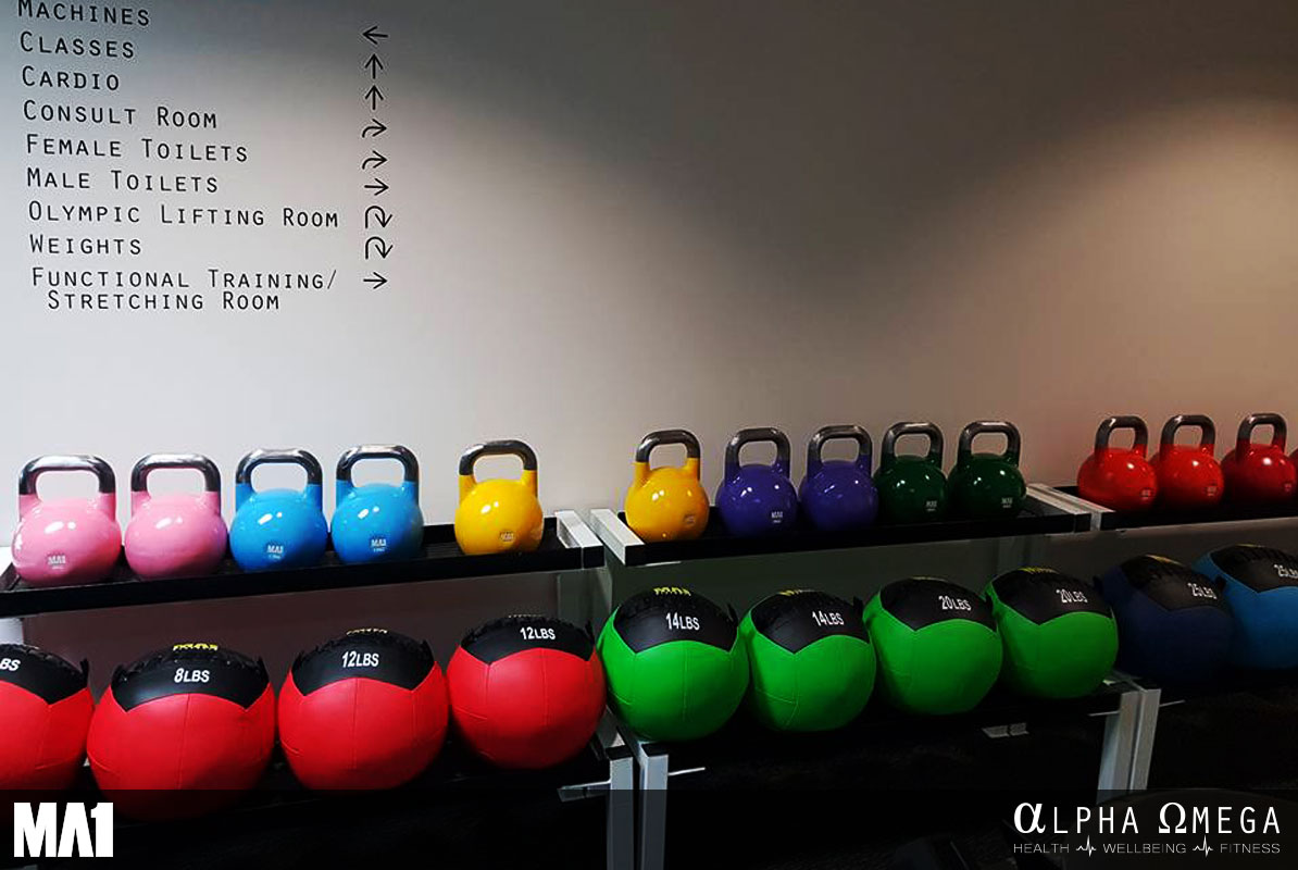 MA1 Equipped Commercial Gym Fitout - Alpha Omega Health Gym