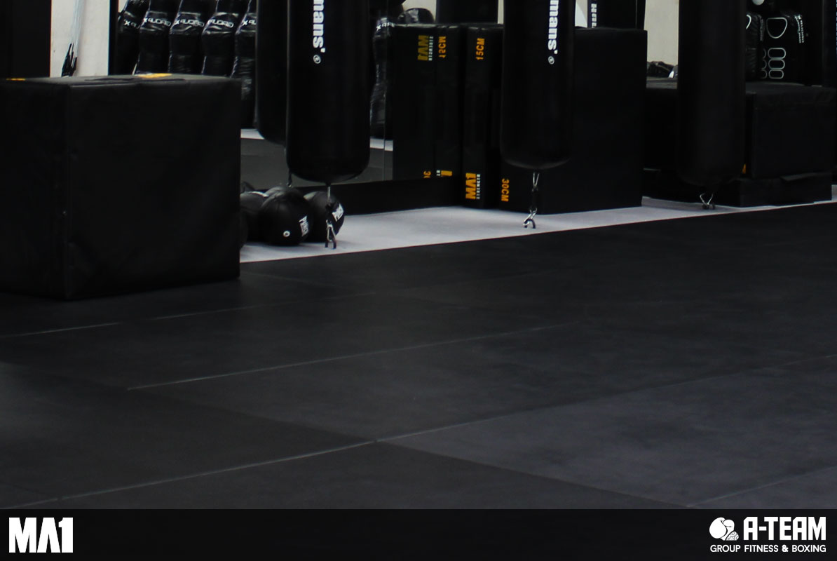 MA1 Commercial Gym Fitout - A-Team Group Fitness & Boxing