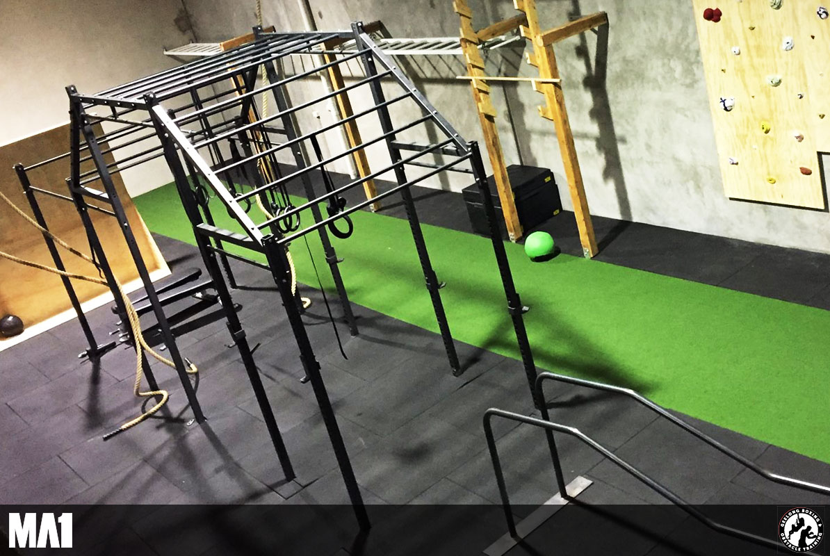 MA1 Equipped Commercial Gym Fitout - Geelong Boxing and Obstacle Training