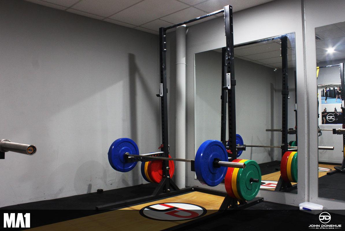 MA1 Equipped Commercial Gym Fitout - John Donehue Jiu Jitsu & MMA