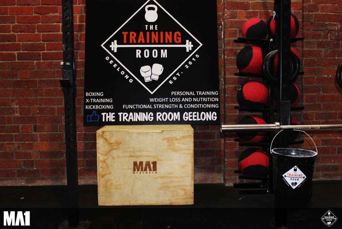 MA1 Equipped Commercial Gym Fitout - The Training Room Geelong