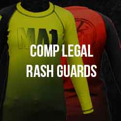 MA1 Kids Rash Guards