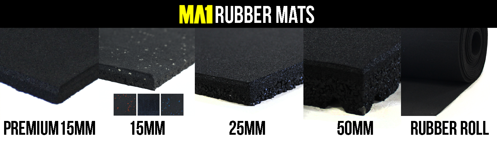 What type of rubber flooring is suitable for me?
