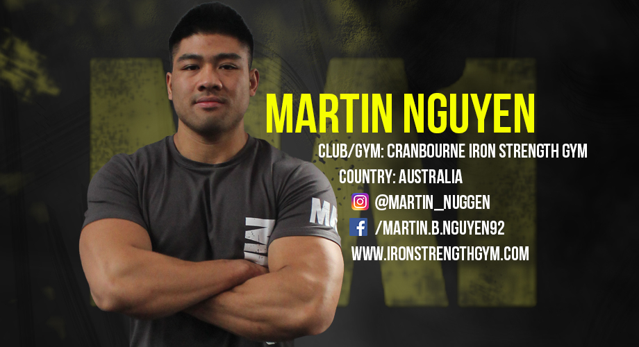 Strength and Conditioning Coach Martin Nguyen   MA1 Athletes