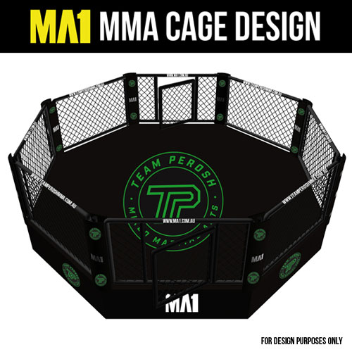MA1 Custom MMA Cage for Perosh MMA